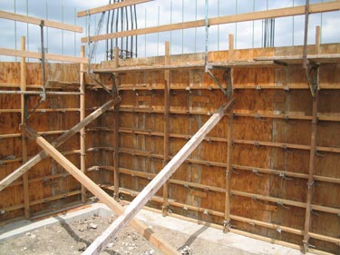 Camlock Forming System Concrete Forming Shoring And