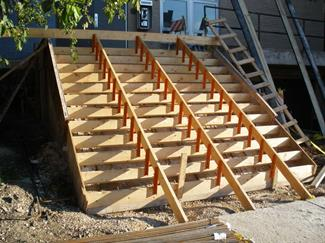 Step Wizard Stair Forming System Concrete Forming