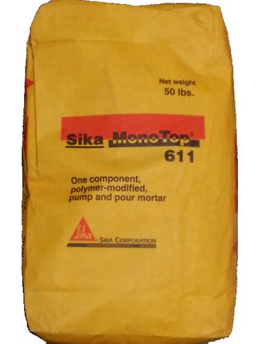 Sika® MonoTop® 611   Concrete Forming, Shoring, and